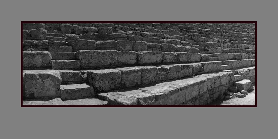 Segesta - řecké divadlo