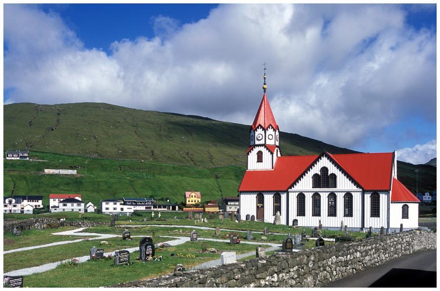 Kostel v Sandaváguru