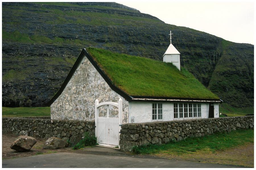 Kostel v Saksunu