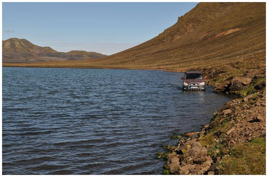 Průjezd jezerem Blautulón 8-0803