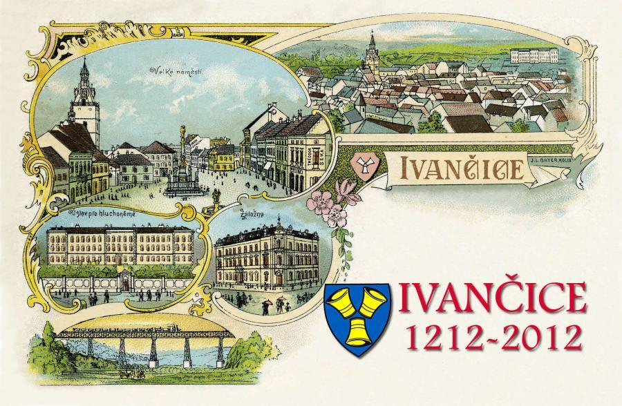 Kolorovaná pohlednice z počátku 20. st.